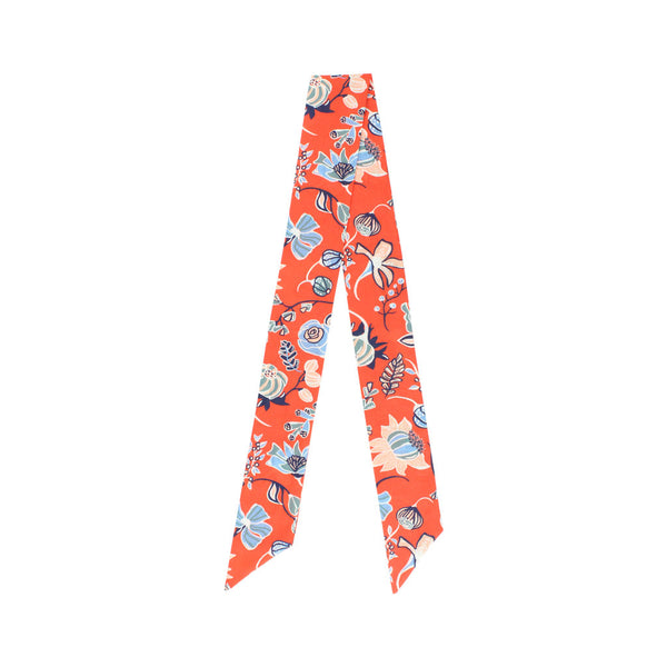 Liberty Twilly - Winter Floral, Orange