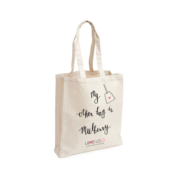 Love Lolo Deluxe Canvas Tote Bag