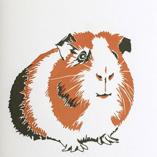 Penguin Ink Guinea Pig Card