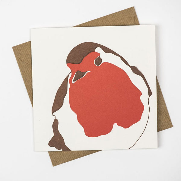 Penguin Ink Little Robin Card