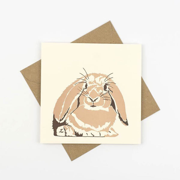 Penguin Ink Rabbit Card