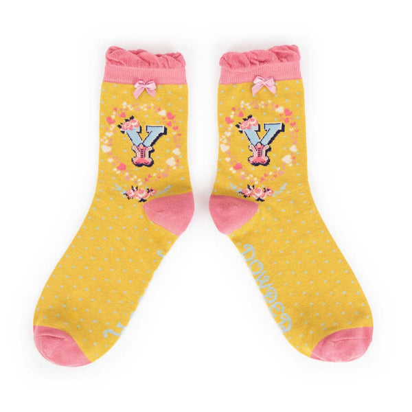 Powder A-Z Ankle Socks