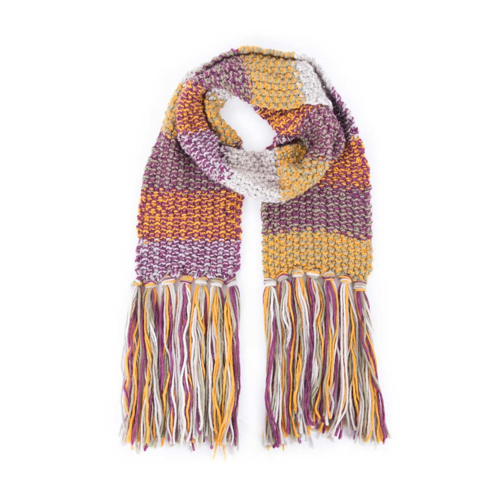Powder Astrid Scarf, Damson Mix