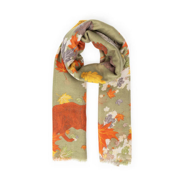 Powder Autumn Chums Scarf