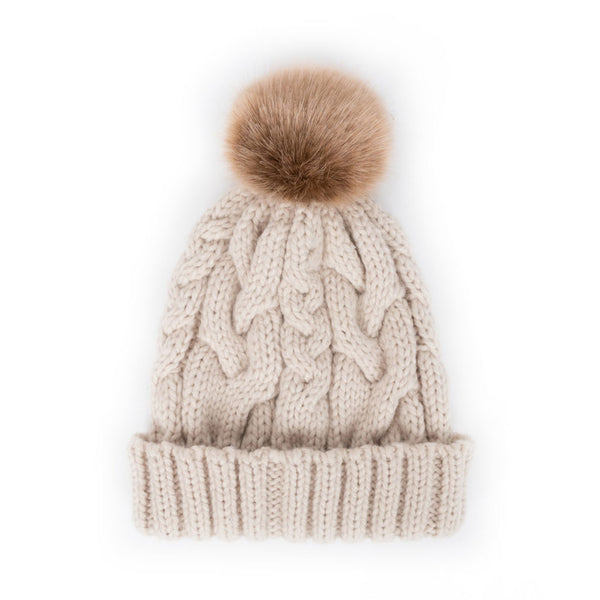 Powder Charlotte Hat, Cream