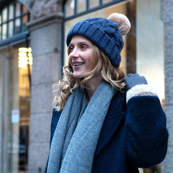 Powder Charlotte Hat, Navy