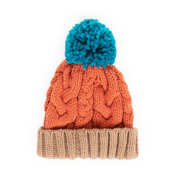 Powder Karina Hat, Tangerine Mix