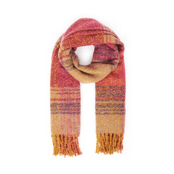 Powder Maggie Scarf, Fuchsia Mix