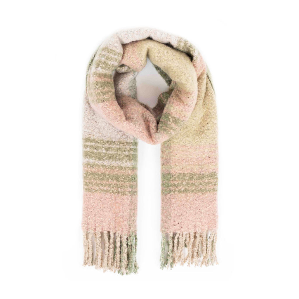 Powder Maggie Scarf, Moss Mix
