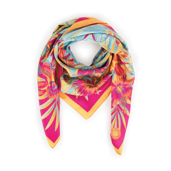 Powder Monkey Satin Square Scarf