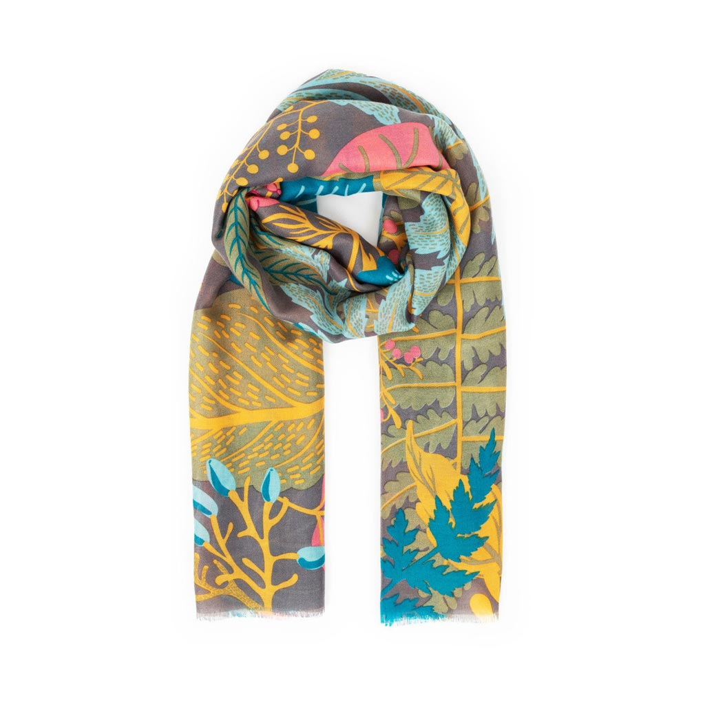 Powder Winter Garden Scarf