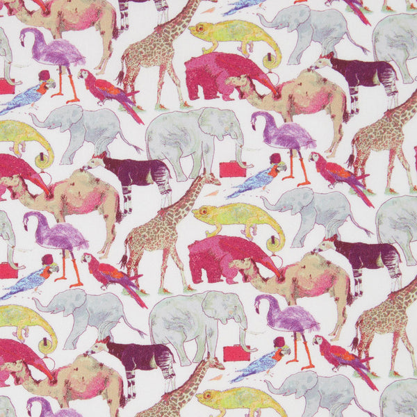 Liberty Twilly - Queue for the Zoo, Pink