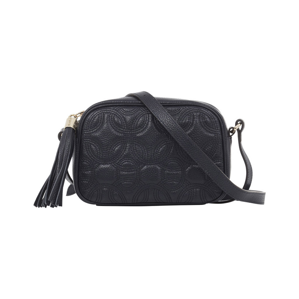 Quilted Leather Camera Bag