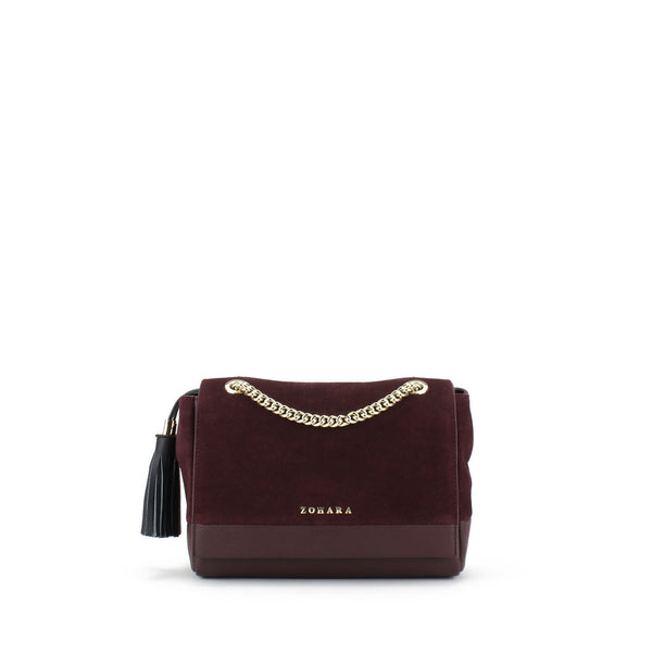 Zohara Glenada Crossbody Bag in Oxblood