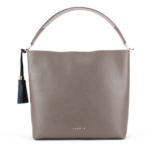Zohara Meelmore Shopper in Elephant Grey