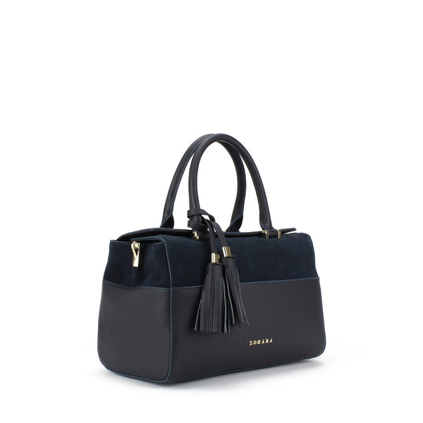 Zohara Mourne Bowling Bag in Navy
