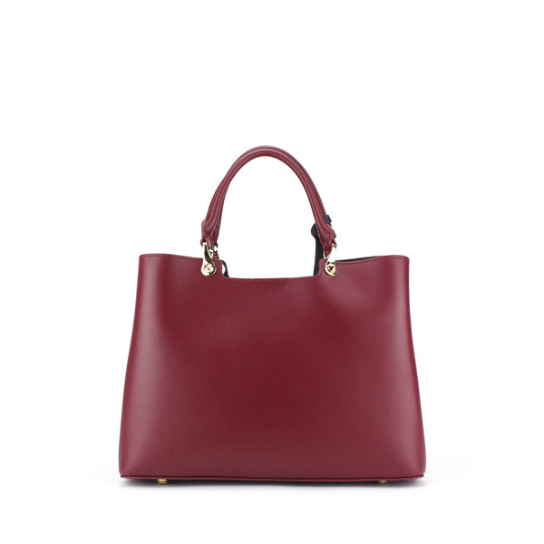 Zohara Raven Handbag in Claret Red
