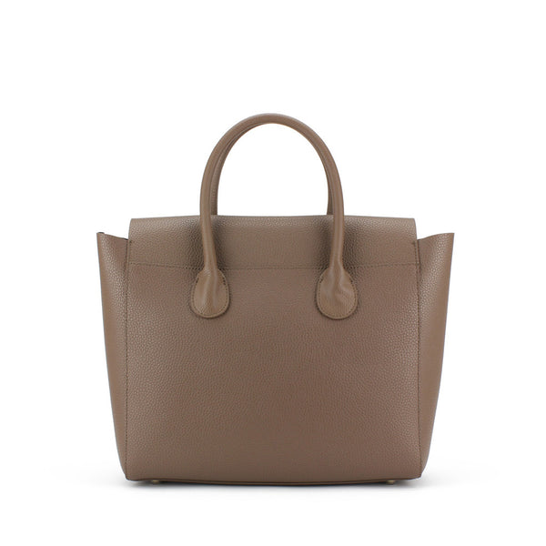 Zohara Trassey Flap Bag in Easy Mocha