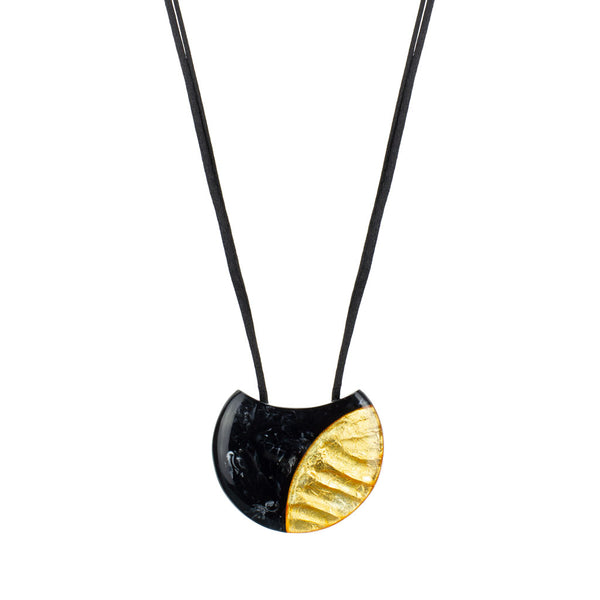 ZSISKA Inca Pendant in Black/Gold
