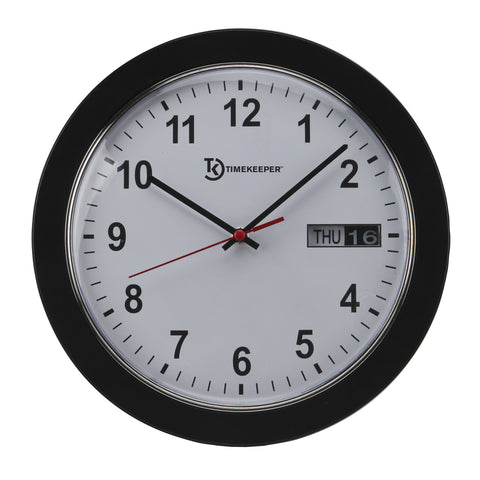 Wall Clock w/ Day/Date Display