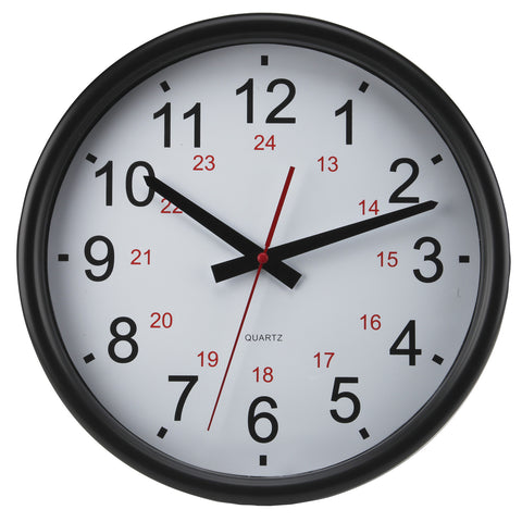 24 Hour Wall Clock