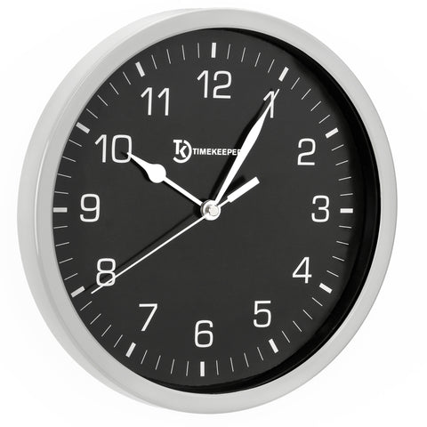 Eclipse Round Wall Clock