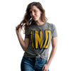 IND Blue & Gold Women's Relaxed