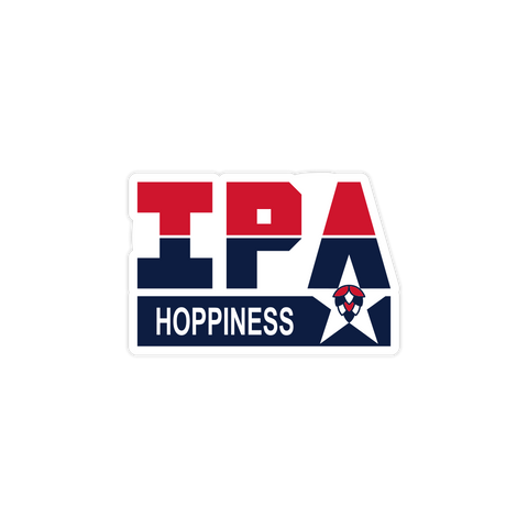 IPA Hoppiness Sticker