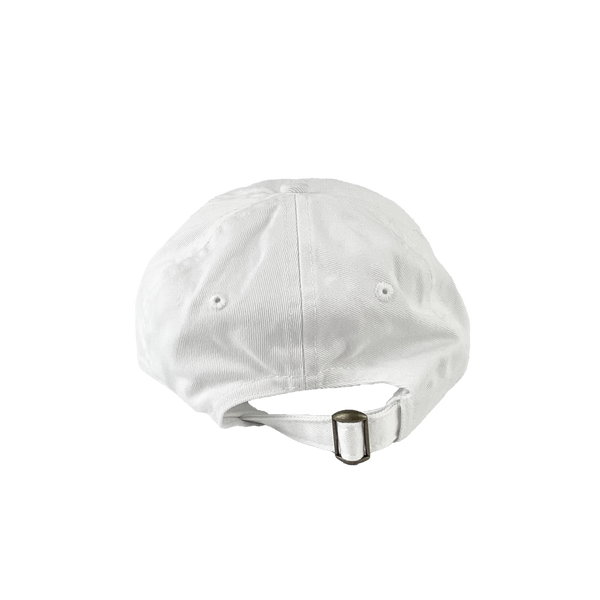 Visit Indy Dad Hat White