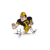 Boiler Up Football Sticker