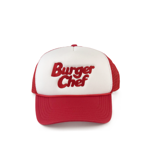 Burger Chef Foam Trucker