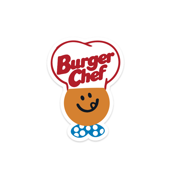 Burger Chef Logo Sticker