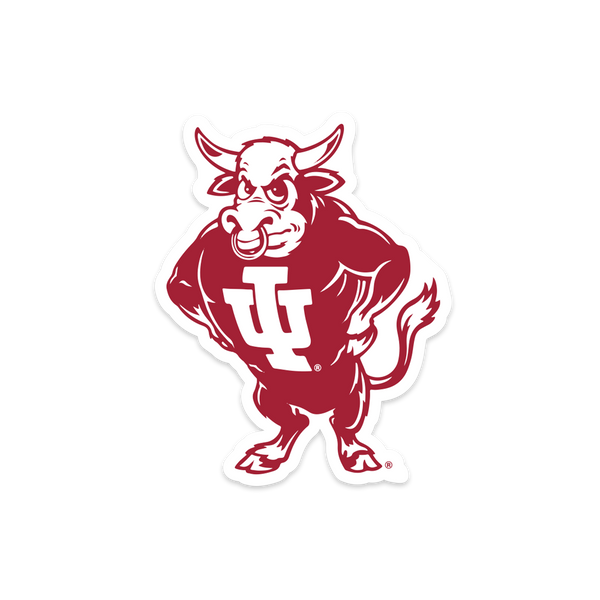 IU Bison Sticker