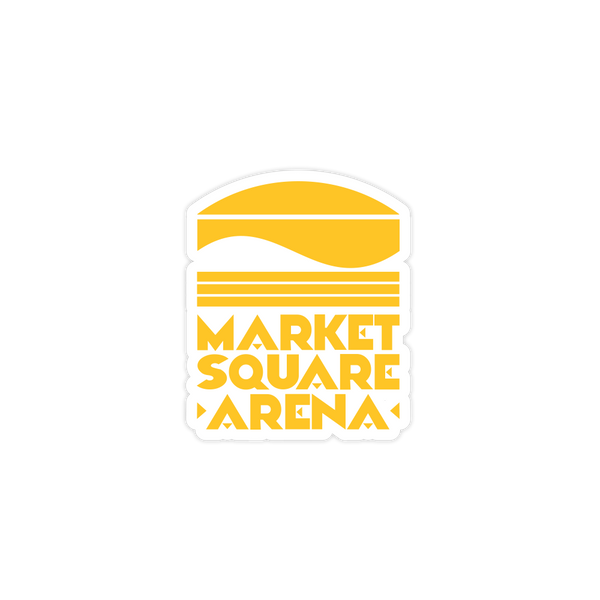 Market Square Arena Sticker