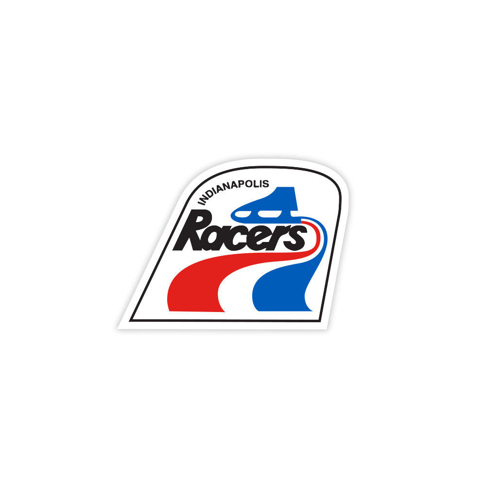Indianapolis Racers Sticker