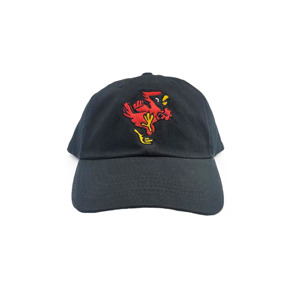 Ball State Vintage Charlie Cardinal Dad Hat