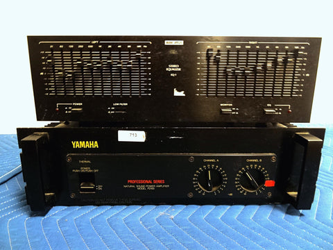 Yamaha P2100 AMP, S41154 Speakers, Audio Reflex EQ - The Big E Gun Shop - 1
