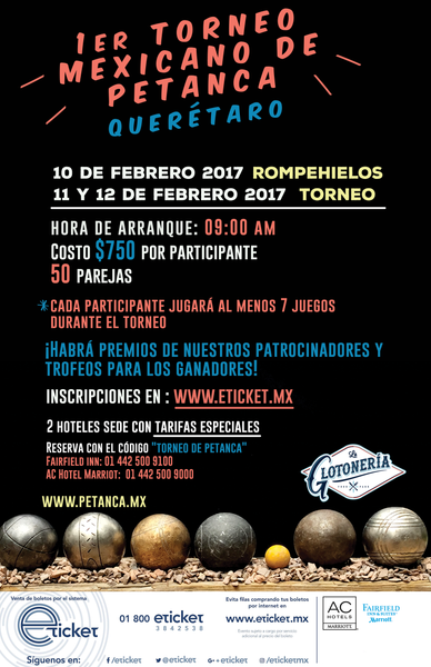 PEtanque tournament in Mexico