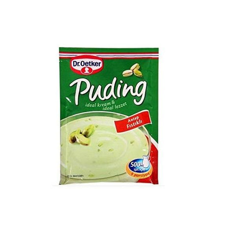 First time in Canada, Pistachio pudding