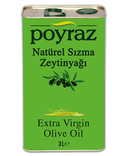 Poyraz Extra Virgin Olive Oil 3L - Turkish Mart