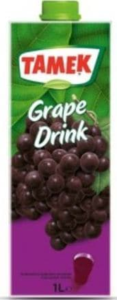 "Tamek Grape Drink ""uzum meyveli icecek"" - 1Lt - Turkish Mart"