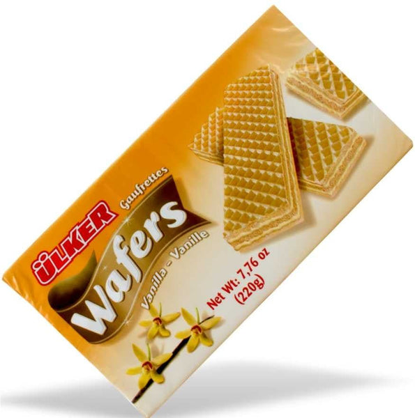 Ulker Wafers with Vanilla 220g - Turkish Mart