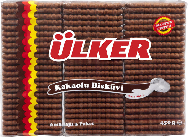 Ulker Biscuits with Cocoa - 450 g - Turkish Mart