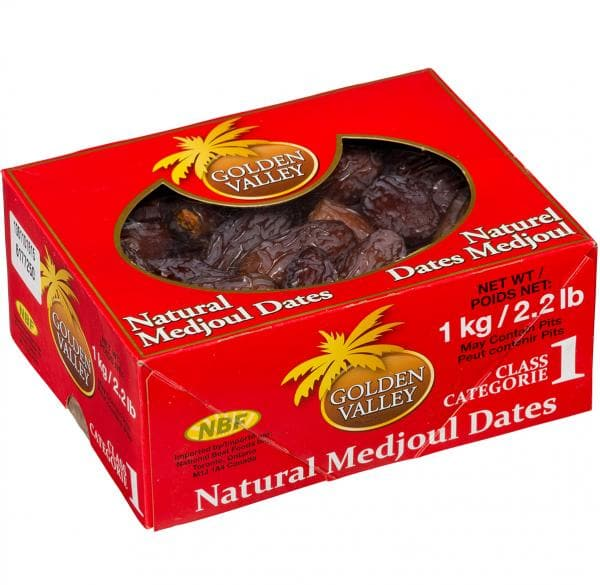 Golden Valley - Natural Dates 1kg - Turkish Mart