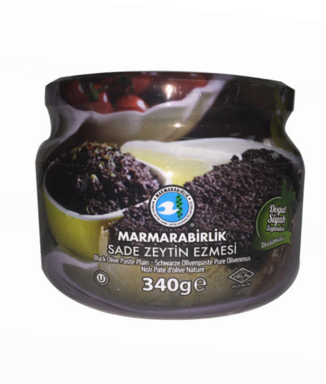 Marmarabirlik Black Olives Paste 340GR - Turkish Mart