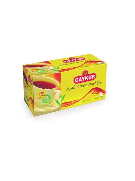 Caykur Suzme Poset(Tea Bag) Black Tea - - Turkish Mart