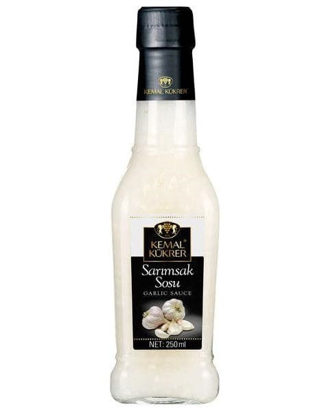 Kemal Kukrer Garlic Sauce - 250ml - Turkish Mart