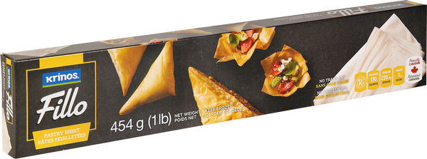 Krinos Fillo Pastry sheets - 454g FROZEN **** deliveries : GTA only **** - Turkish Mart