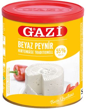 "Gazi Traditional Salad Cheese ""Beyaz Peynir"" 55% - 500g net **** deliveries : GTA only **** - Turkish Mart"