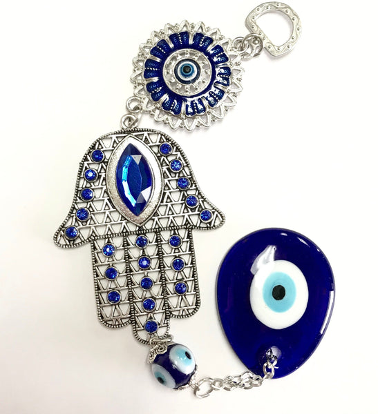 Evil Eye Suspension (hand) - Turkish Mart